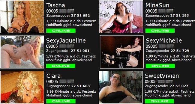 Probiere jetzt gratis unsere Sexcams und erhalte ebenfalls kostenlose Coins für die Porno Videos, sowie den Telefonsex. Die sexy Girls warten hier auf dich!