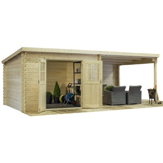 Casetta in legno LONDON 601 x 312 x 216 h. cm