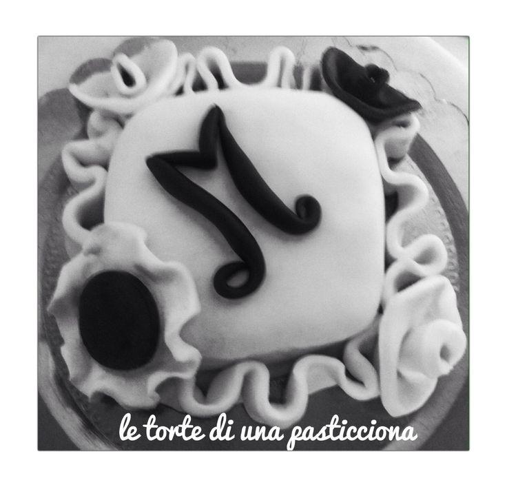 Bianco e nero... Minicake