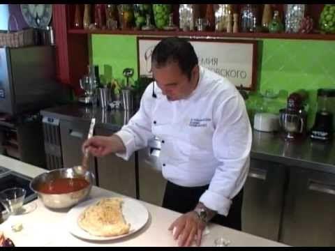 Пицца Кальцоне - YouTube