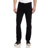 Levi's Men's 511 Slim Fit Jean With Shank Button, Black Stretch, 30x30 (Apparel)By Levi's
