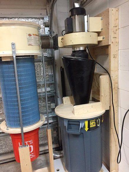 Dust Collector Modification Part Deux | LumberJocks ...