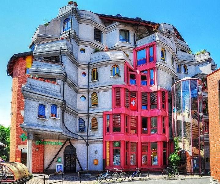 Ginevra è piena di case grigie e noiose...