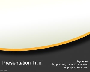 Free business model PowerPoint template is a free PPT template background for serious business and financial presentations in Microsoft PowerPoint