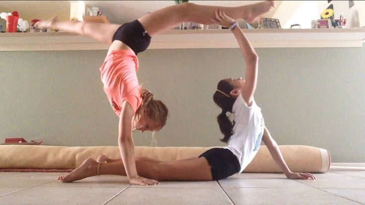 •ninja• •partner yoga pose•