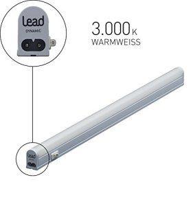 LEAD energy AG CL1136 Réglette LED lumineuse sous meuble 18W Blanc chaud