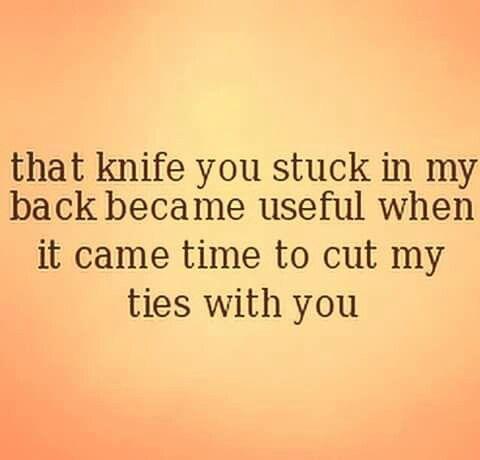 Cut you off!!