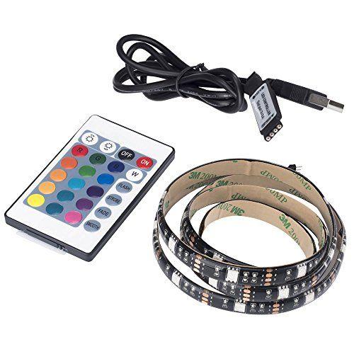 USB LED Strip Light 5050 RGB 3.28Ft(100cm) Waterproof Mul... https://www.amazon.com/dp/B075VSJTR9/ref=cm_sw_r_pi_dp_x_Uv6eAb9496E1A