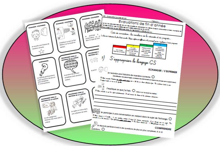 Progressions, cahier de progrès et cartes de compétences : GS