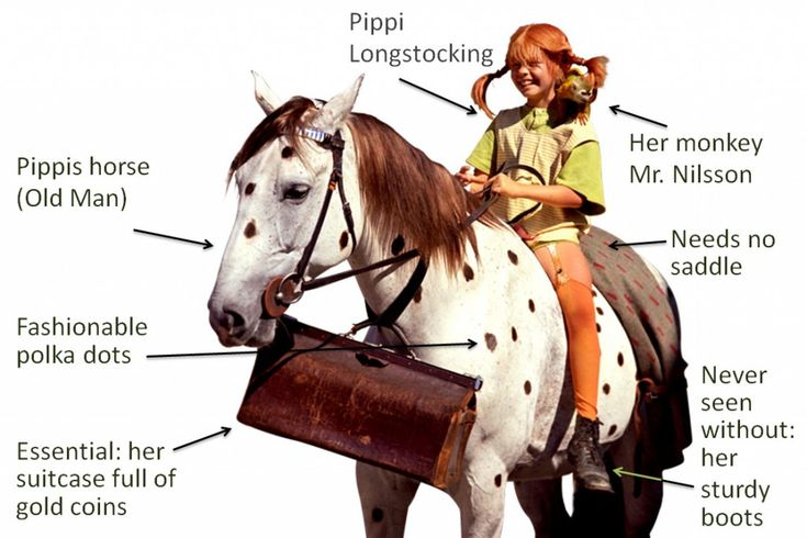 pippi longstocking horse | Pippi Longstocking | Team! Licensing GmbH