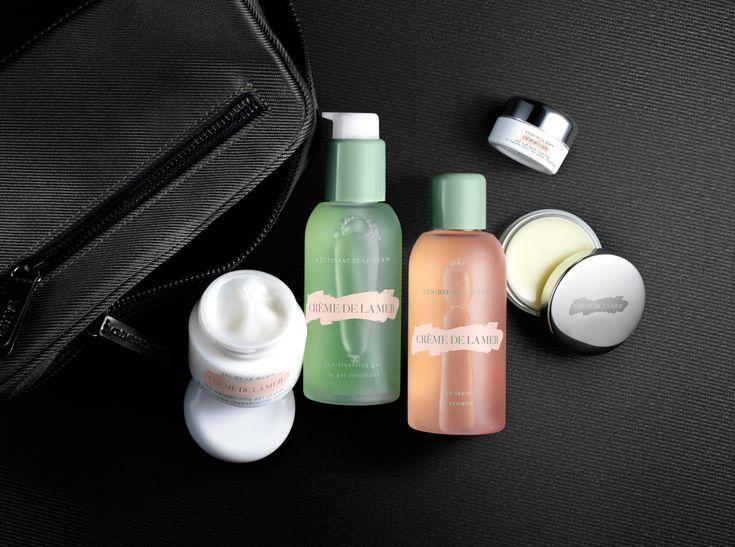 The new Crème de la Mer Men's Skin Essentials Kit