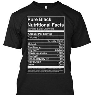 These shirts that break it down for anyone who might be confused. | 23 Ways To Celebrate Black History Month In Style