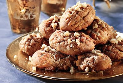 GREEK COOK LOVERS: MELOMAKARONA-HONEY COOKIES WITH WALNUTS