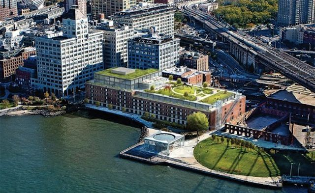 Ten Proposals for Brooklyn Bridge Park's Historic Waterfront Warehouses... Brooklyn Bridge Park released ten proposals for renovating Dumbo's abandoned Empire Stores, from developers that include Jamestown Properties and Two Trees.