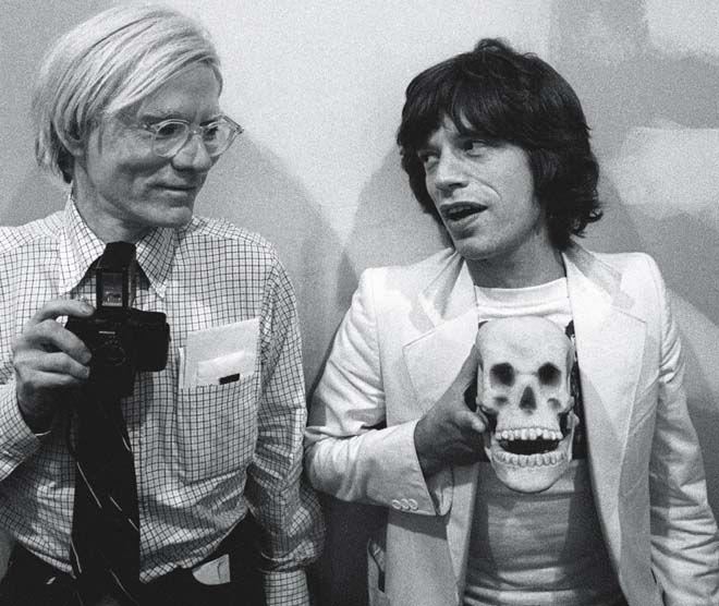 Andy Warhol. Mick Jagger