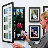 Front-opening frame makes it easy to create an ever changing gallery that keeps pace with your life.