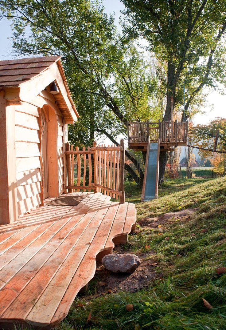 la cabane d 39 enfant du saule cabane dans les arbres. Black Bedroom Furniture Sets. Home Design Ideas