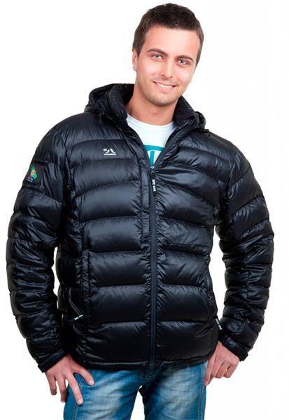 Легкий мужской пуховик куртка