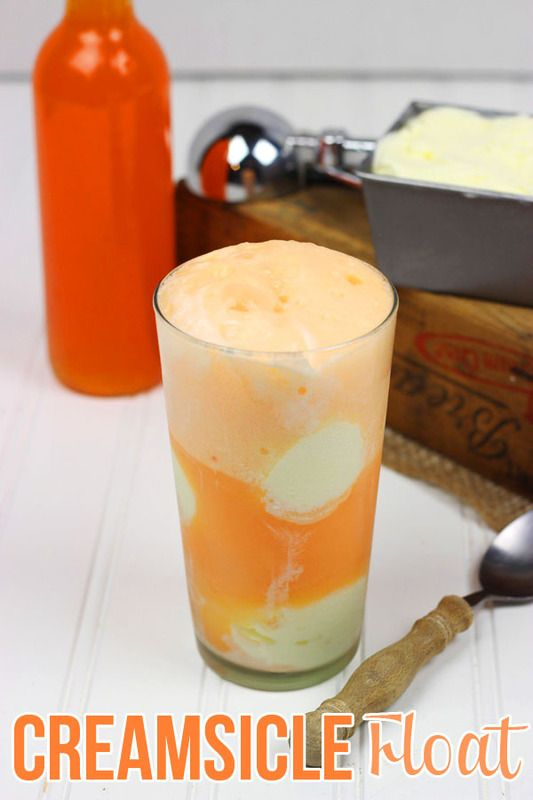 Creamsicle Float | Spiced