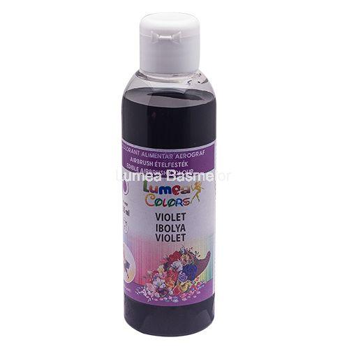 Colorant alimentar pentru aerograf Lumea Basmelor violet decorațiuni pentru…