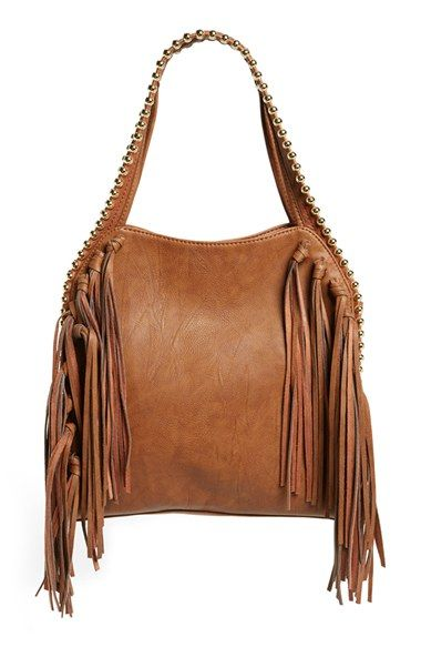 Big Buddha Fringe Faux Leather Hobo available at #Nordstrom- I am totally treating myself to this bag!!! It's PERFECT!