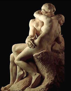 El beso, de Rodin. Está en la puerta del Musee de l'Orangerie: Kiss Me, Oil Paintings, Sculpture, August Rodin, Art Sculpture, The Kiss, Art Museums, Thekiss