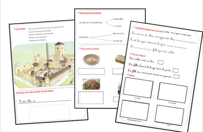 1000 images about lecture cycle 2 on pinterest livres - Fiche de lecture effroyables jardins ...