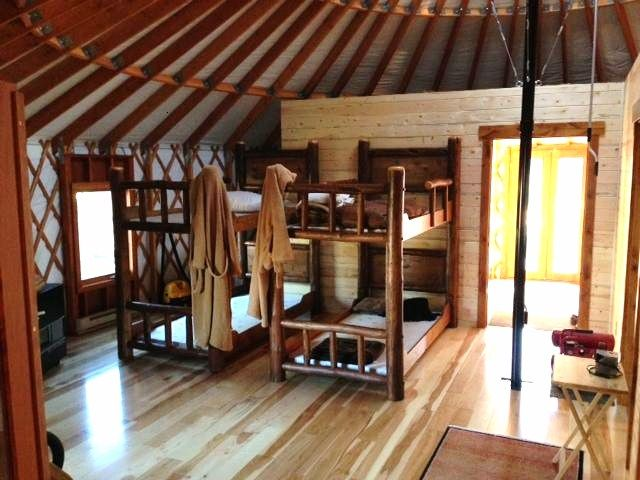 Colorado yurt company customer stories two yurts make for Dream home flooring manufacturer