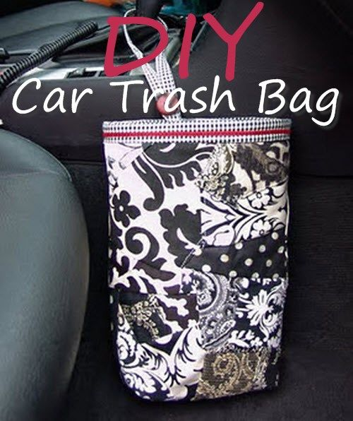 Diy Ideas Bag: 55 Best Car Accessory DIY Craft Projects Images On