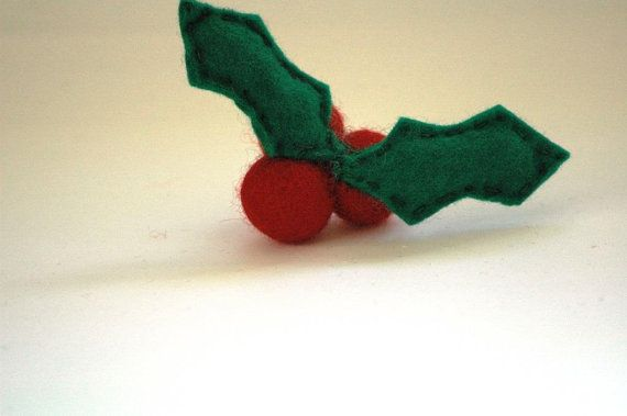 Jolly Holly Berry Christmas Decoration or by TheNataleStore, $12.50