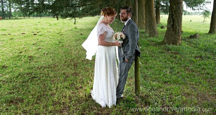 Janine & Tom'es wedding #EcoBride #vintage lace