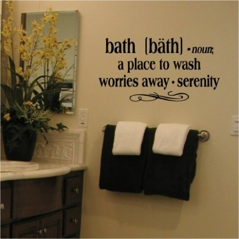 25 best ideas about bathroom sayings on pinterest for Bathroom quote ideas