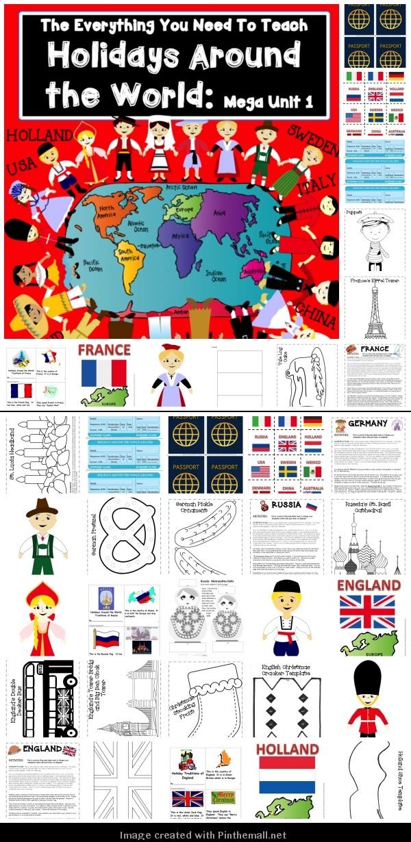 Immigration Activities For Kids