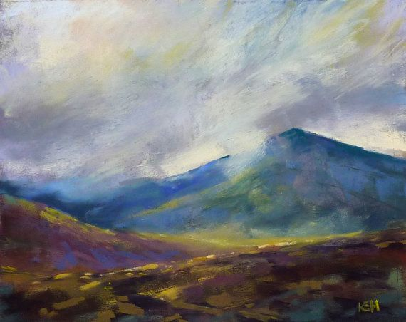 ICELAND Art  Dramatic Landscape Volcano by KarenMargulisFineArt, $150.00