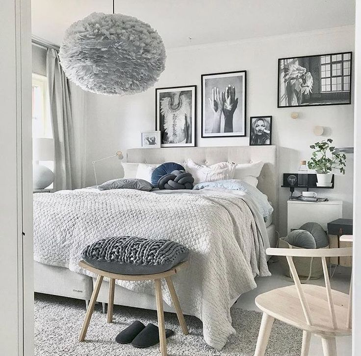A calm and inspiring bedroom to wake up to with the Eos lampshade in light grey. Thanks to @mz.interior for the great capture.