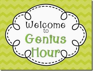 Genius Hour....Getting Started (Blog Post)
