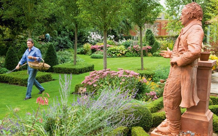 """For the past ten years, Alan Titchmarsh has worked on his own private """"Eden"""". Now, in a new book, he reveals his secret garden in all its glory."""