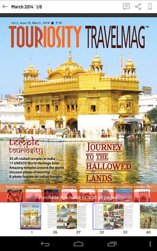 Touriosity Travelmag is an off the beat travel journal for people who love to travel or those who love reading travel stories.This travel magazine is aimed at making you a confident independent traveller. We aspire to give you wings by bringing to you ins