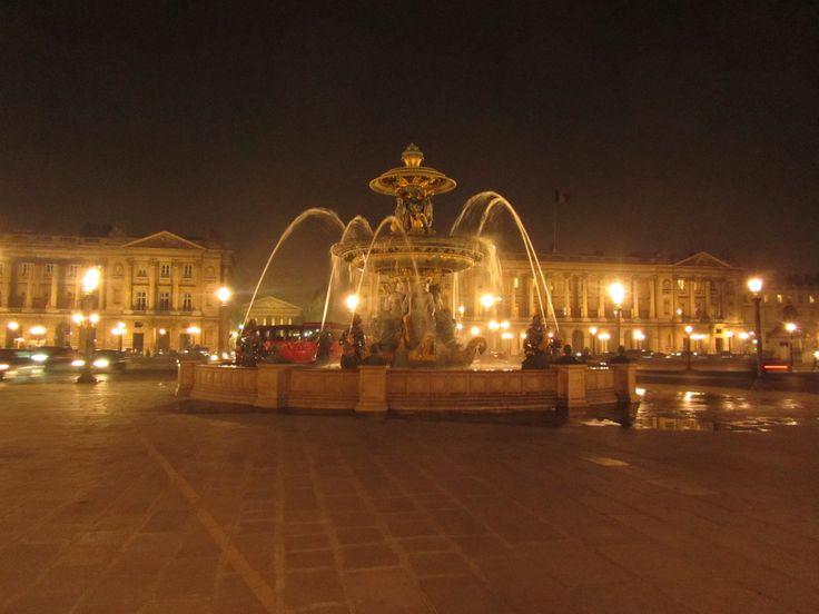 Fountain at Place de la Concorde