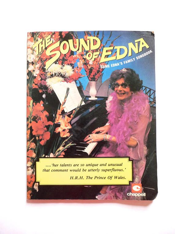 The Sound of Edna is Dame Edna's Family Songbook