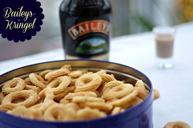 Plätzchenrezept Nummer Eins: Feine knusprige Baileys-Kringel! #pamk
