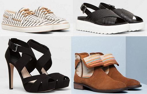 zapatos pull and bear mujer primavera verano 2015
