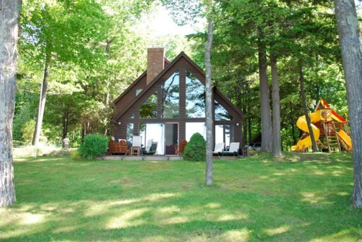 Check out this awesome listing on Airbnb: Beautiful lakefront home on Glen Lake - Houses for Rent in Empire, Michigan, United States
