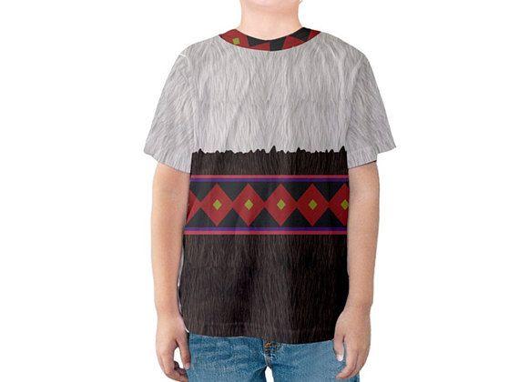 Kid's Sven Frozen Inspired Disneybound Shirt
