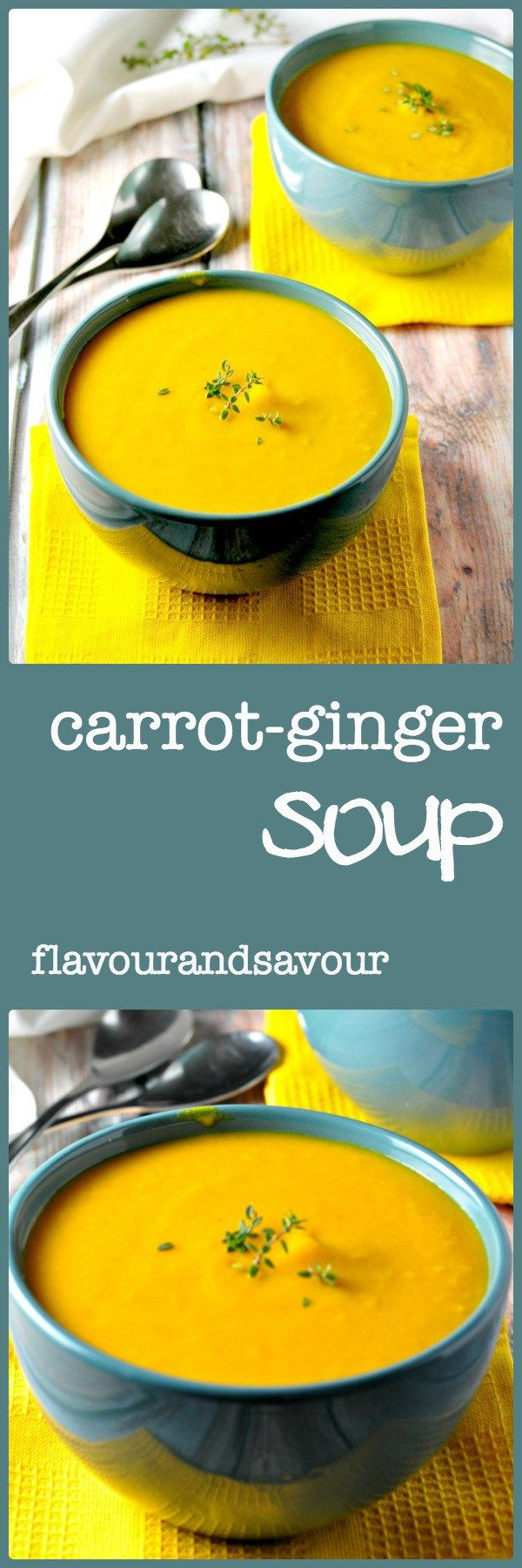 """Carrot-Ginger Soup 