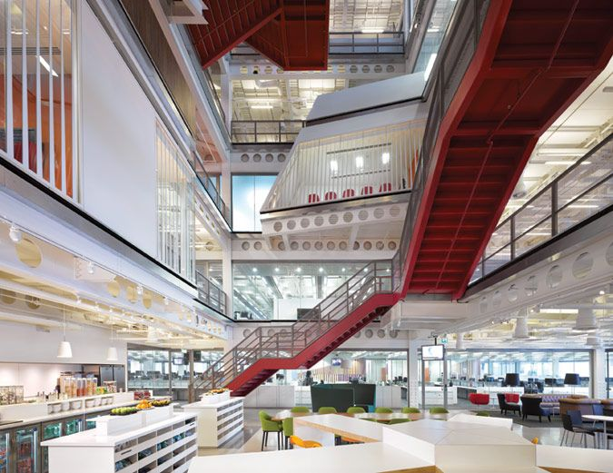 Design at Work> Macquarie Group - The Architect's Newspaper