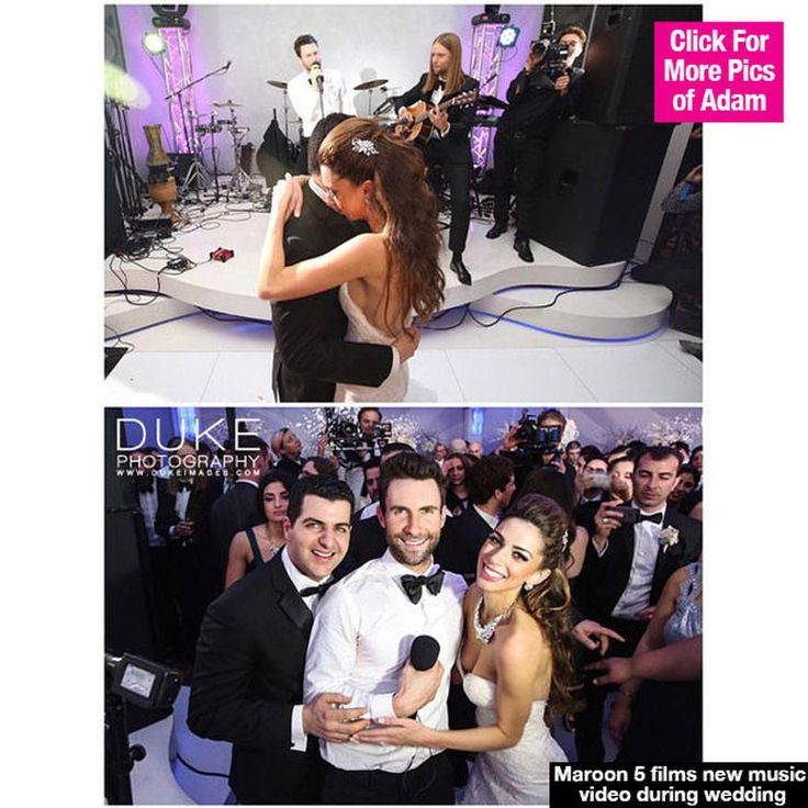"""So cool! A newlywed couple was left stunned when the band at their reception ended up being Maroon 5. Yes, that's right. Adam Levine and his bandmates gave one special couple the surprise of a lifetime! Adam Levine, who serves as a judge on The Voice, never ceases to amaze us. He and his Maroon 5 bandmates picked one lucky couple and crashed their wedding in order to film a new music video for their smash hit """"Sugar,"""" according to a new report. Find out all the details!   Maroon 5 Crashes…"""