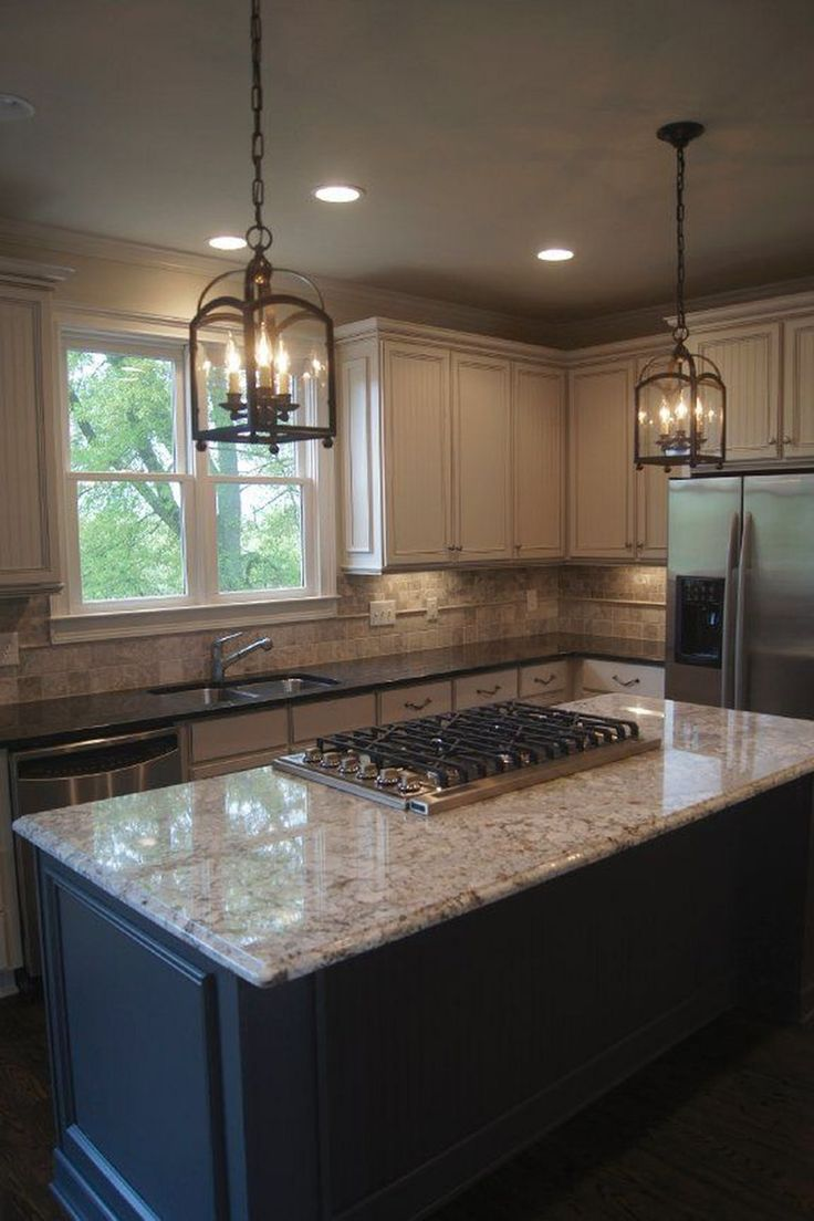 15 Gorgeous Light Cabinets Dark Countertops Design Ideas ...