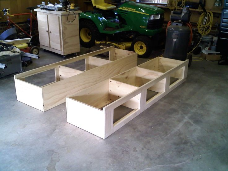 platform storage bed diy google search full size - Full Size Storage Bed Frame