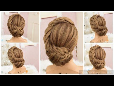 Beautiful Prom Hairstyles 2018 Quick And Easy Hairstyles Hairstyles For Medium Hair Youtube Short Hair Styles Easy Easy Hairstyles Cute Prom Hairstyles